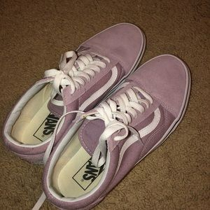 Purple Old School Vans